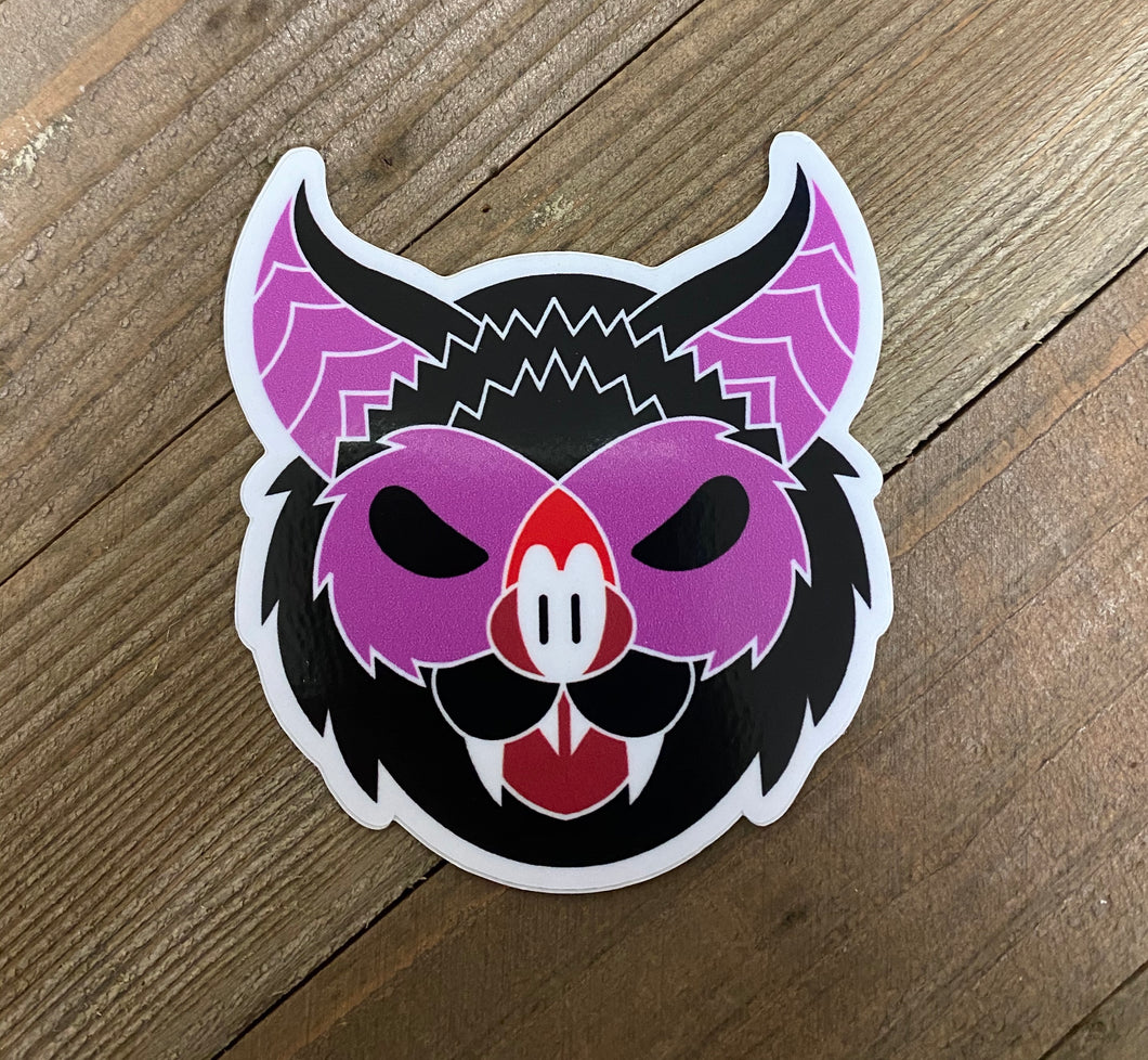 Bta face sticker