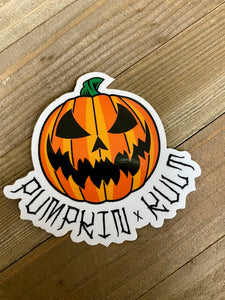 Pumpkin kult sticker