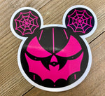 Black and pink eared pumpkin