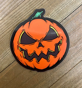Mean Pumpkin sticker