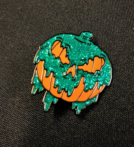 Poison Pumpkin Lapel Pin