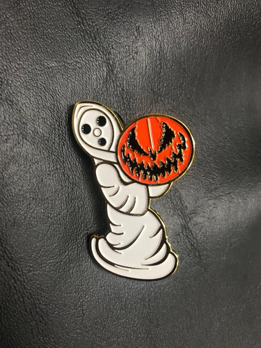 Vintage Ghost Lapel Pin