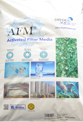 AFM® ACTIVATED FILTER MATERIAL
