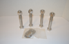 Stainless Steel Hex Cap Bolts with Nut and Washers - 316L