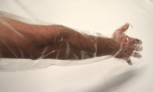 DISPOSABLE ARM LENGTH GLOVES