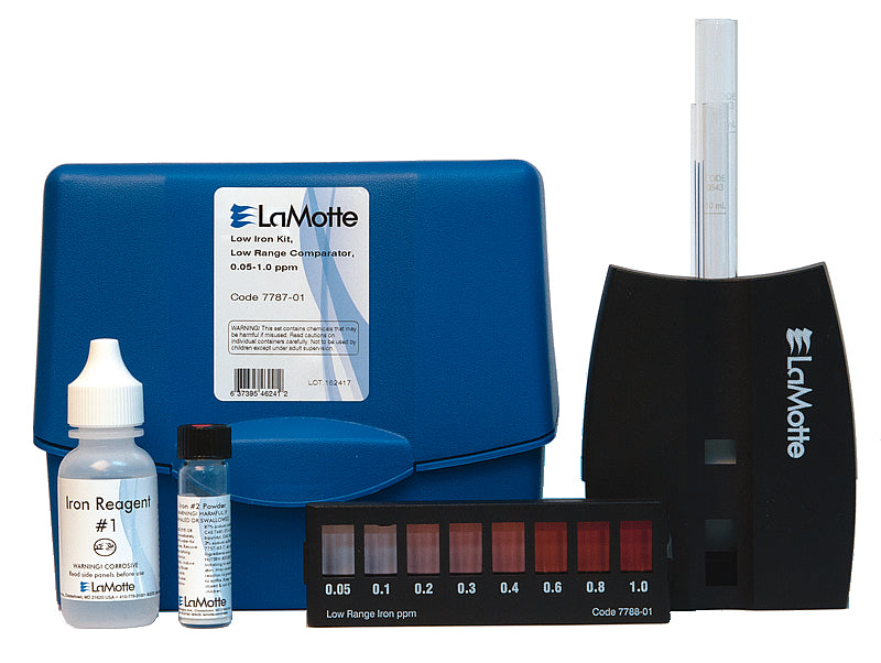 INDIVIDUAL TEST KIT LOW IRON IN WATER