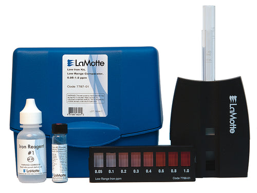 LOW IRON IN WATER TEST KIT