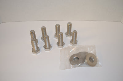 Stainless Steel Hex Cap Bolts with Washers - 316L