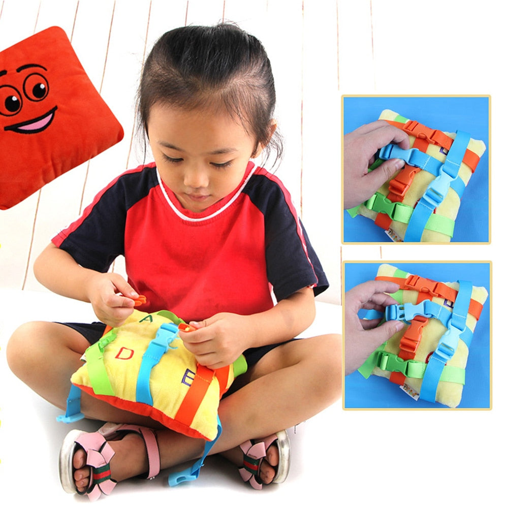 TotBuckleToy™ Montessori Buckle Toy