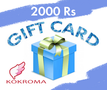 Load image into Gallery viewer, The Kokroma Gift Card