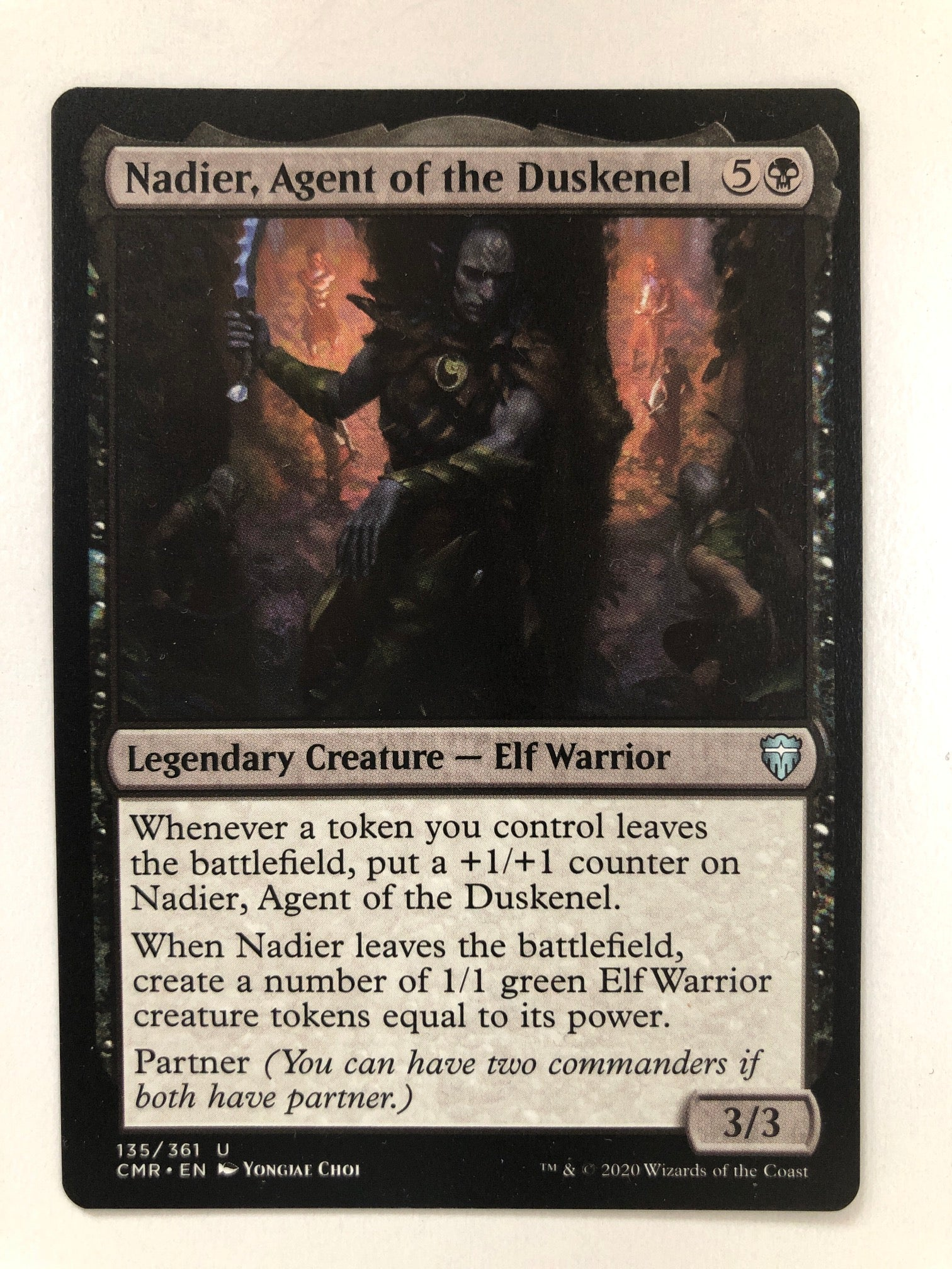 Nadier, Agent of the Duskenel - CMR 135/361 U (M/NM)