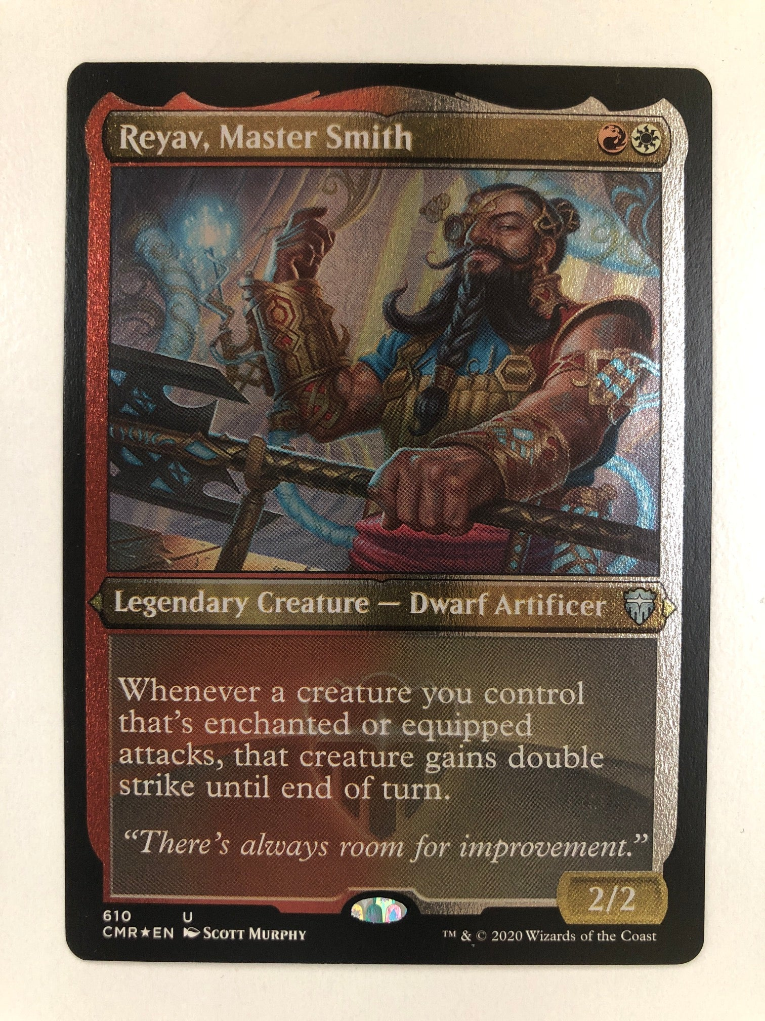 Reyav, Master Smith - CMR 290/361 U (Foil Etched) (M/NM)