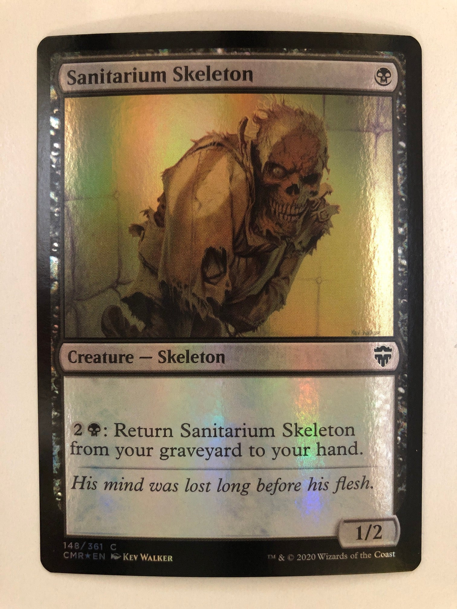 Sanitarium Skeleton - CMR 148/361 C (Foil) (M/NM)