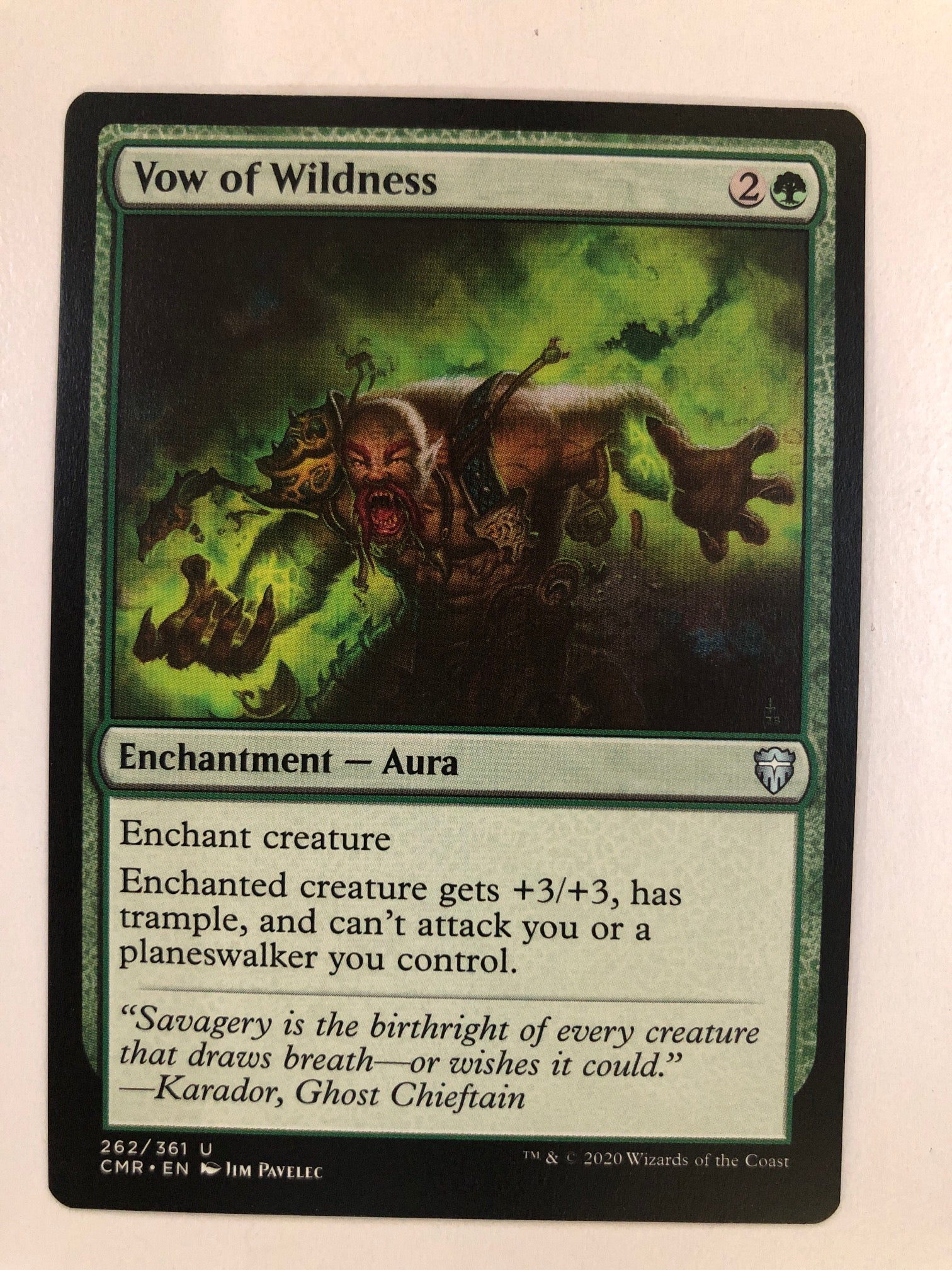 Vow of Wildness - CMR 262/361 U (M/NM)