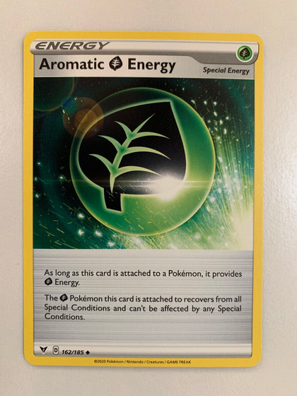 Aromatic Energy - 162/185 SWSH Vivid Voltage Uncommon (M/NM)