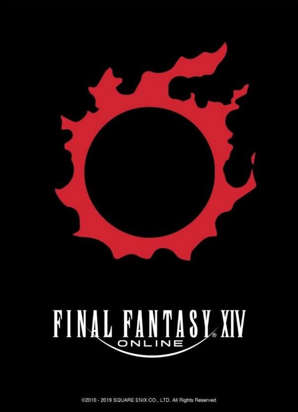 Final Fantasy TCG Sleeve Limited Edition XIV Online Meteor