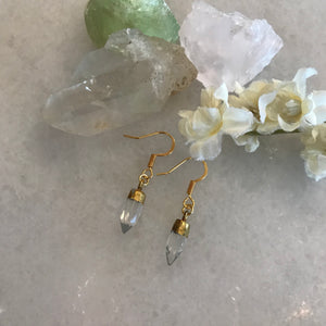 Crystal Vision Spike Earrings