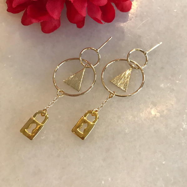 Destiny Lockdown Earrings