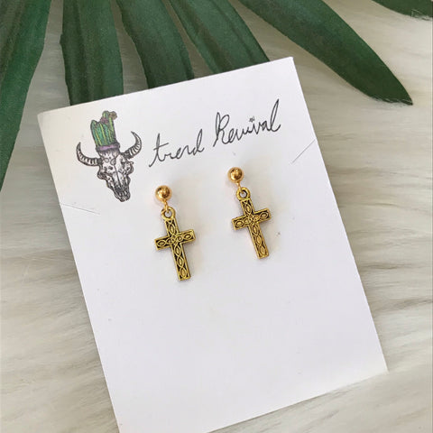 Cruces Earrings