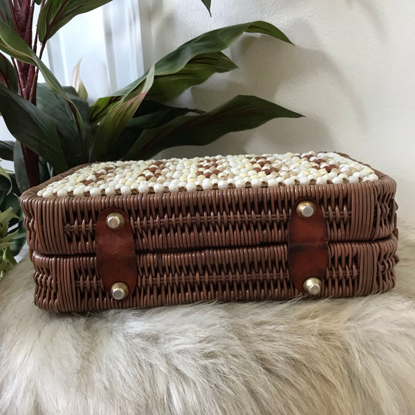 Mid Century Steampunk Box Handbag