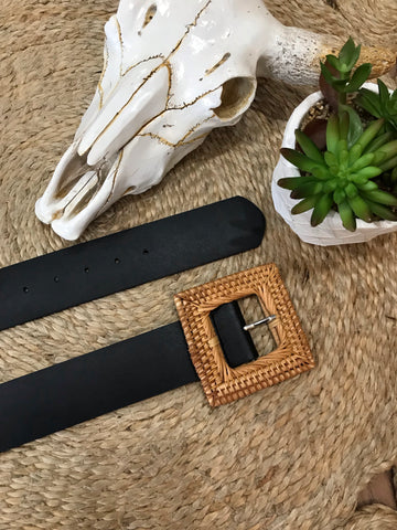 Boho Luxe Wicker Belt