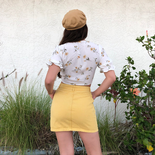 Sunshine Mini Skirt