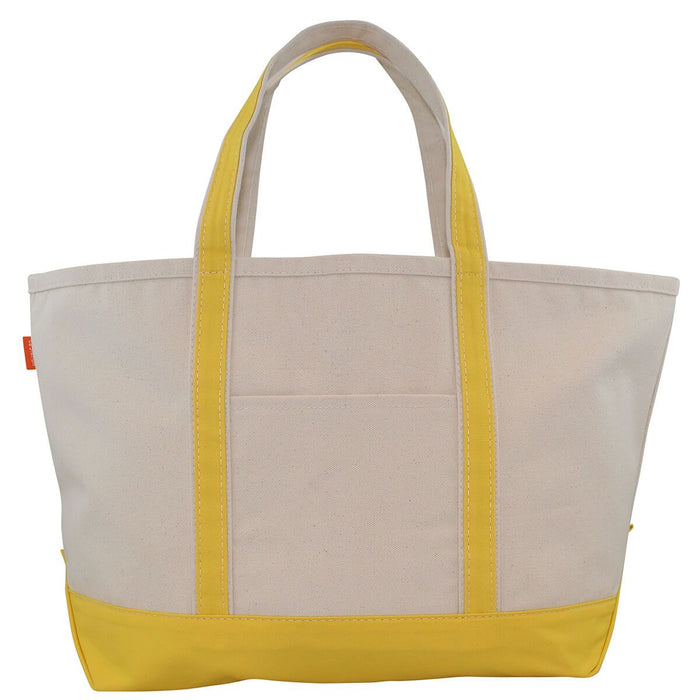Large Boat Tote - Yellow