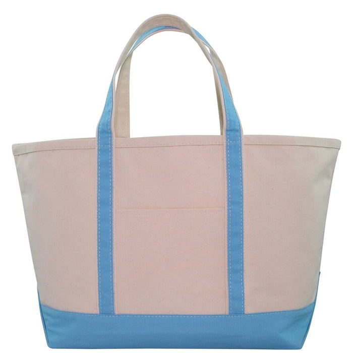 Large Boat Tote - Baby Blue