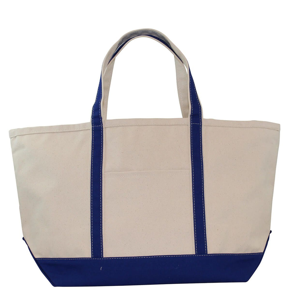 Large Boat Tote - Royal Blue