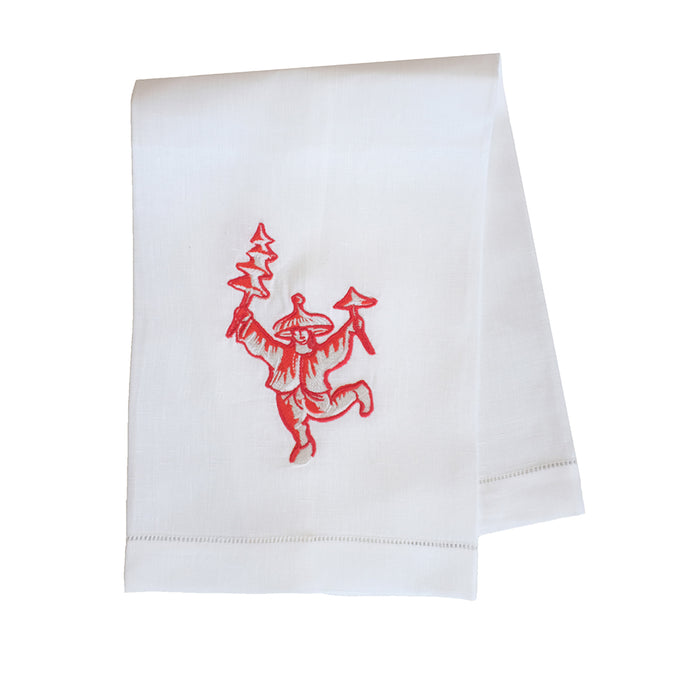 Bob Christian Hand Towel - White