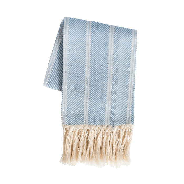 Grosseto Twill European Hand Towel - Bright Blue