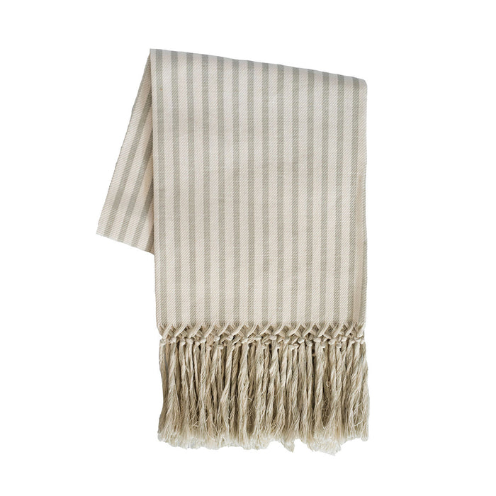 Melograno European Hand Towel - Light Grey