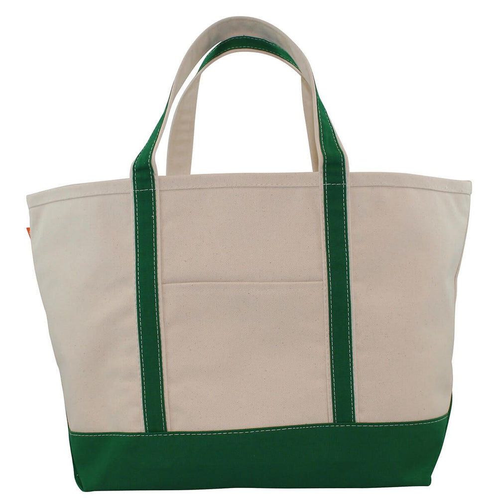 Large Boat Tote - Kelly Green