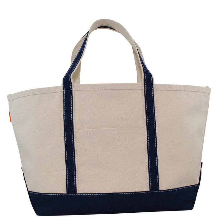 Large Boat Tote - Navy