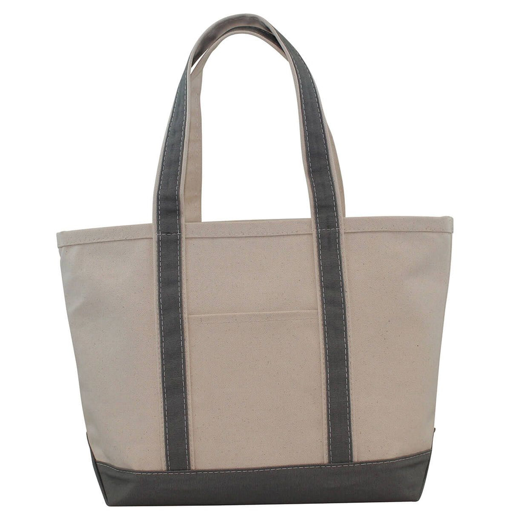 Medium Boat Tote - Grey