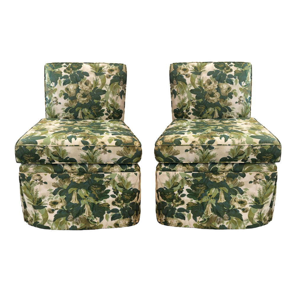 Set of 2 Upholstered Chairs