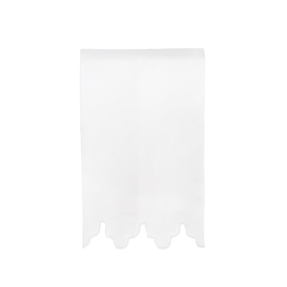 Sultan Tip Towel - White / White