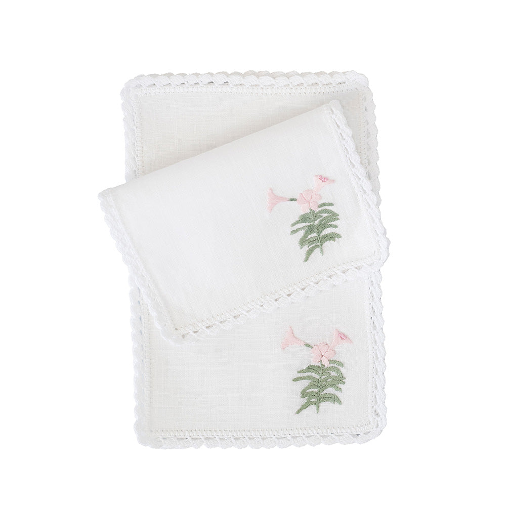 Lily Cocktail Napkins
