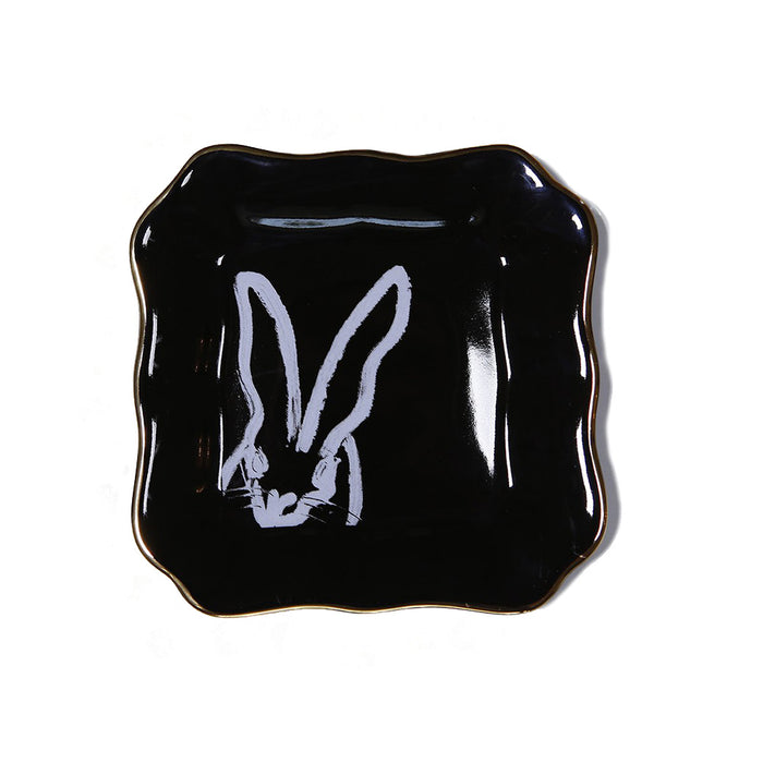 Bunnies Dish - Black