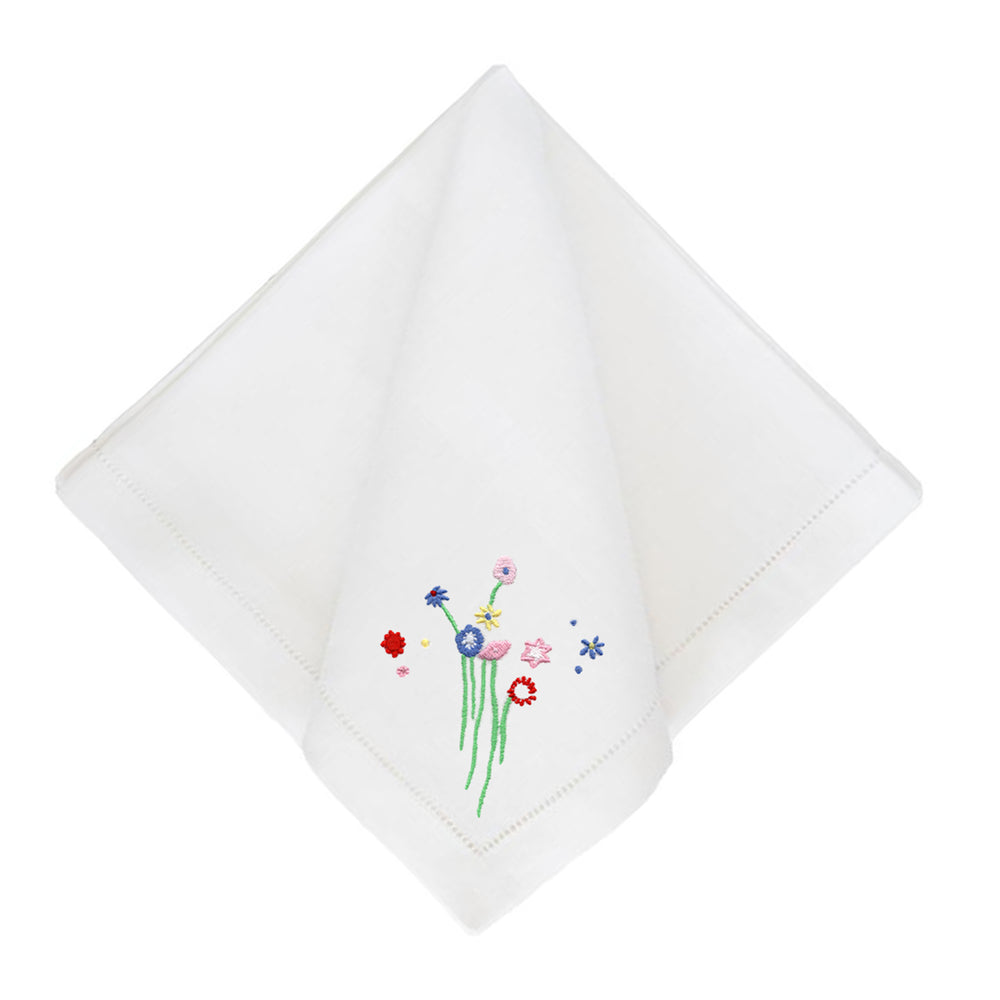 Little Bitty Floral Dinner Napkins