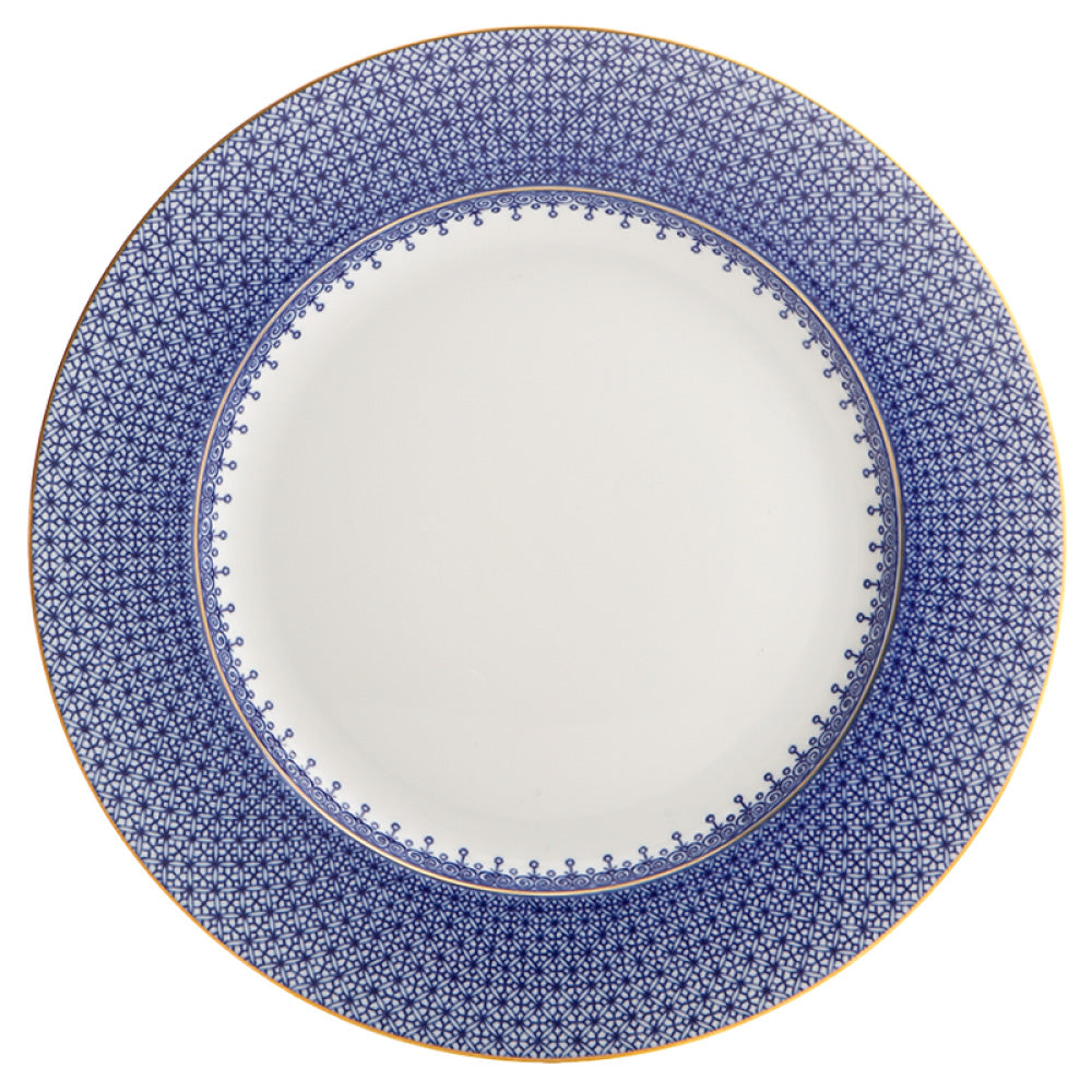 Blue Lace Dinner Plate