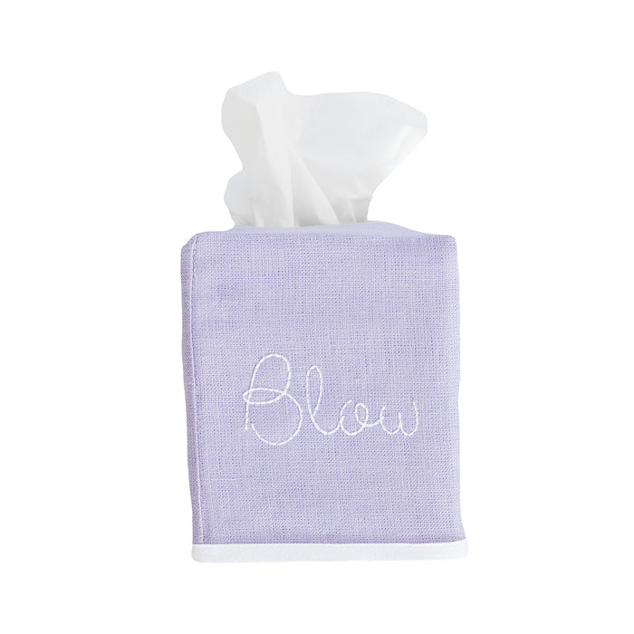 Chelsea Tissue Box Cover - Lavender