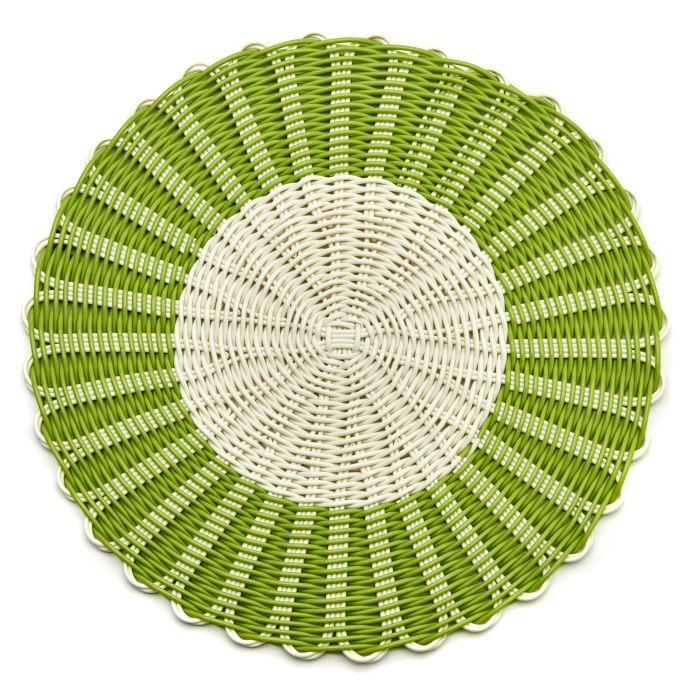 Montauk Placemats - Avocado