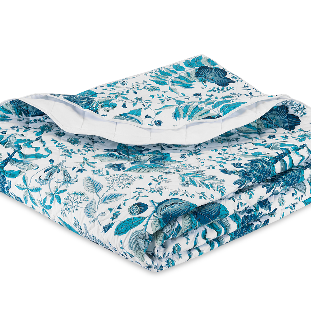 Pomegranate Quilt - Prussian Blue