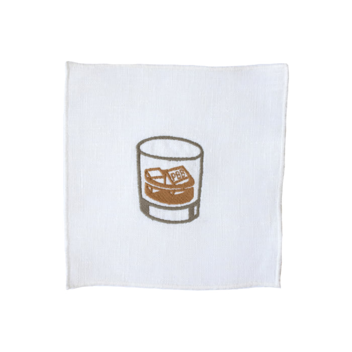 Old Fashion Cocktail Napkins