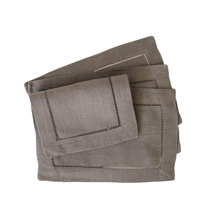 Festival 6x9 Cocktail Napkins - Pewter