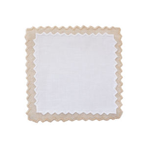 Pinky Cocktail Napkins Tan