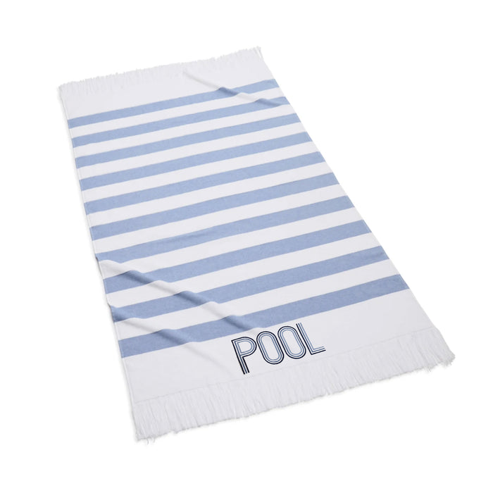 Sardinia Beach Towel with POOL