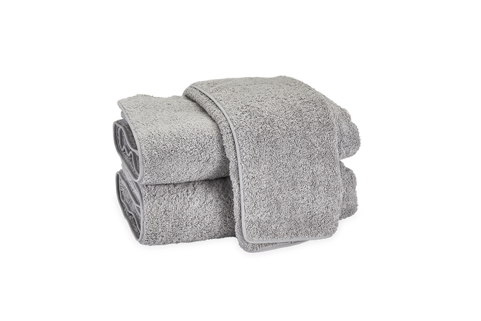 Cairo Straight Edge Bath Towel - Pearl