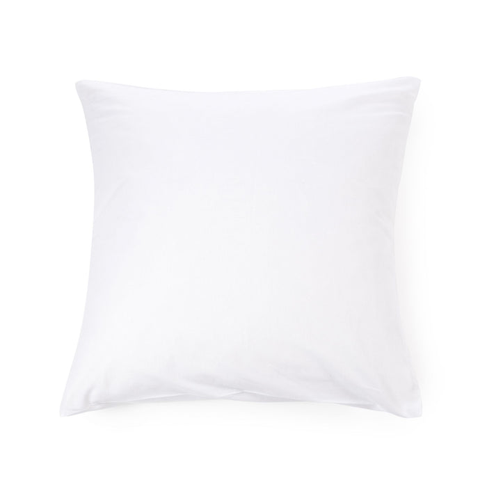 California Linen Euro 25x25 Sham - Optic White